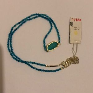 Kendra Scott Elisa Beaded Pendant Necklace NWT